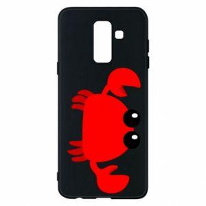 Etui na Samsung A6+ 2018 Small pink crab