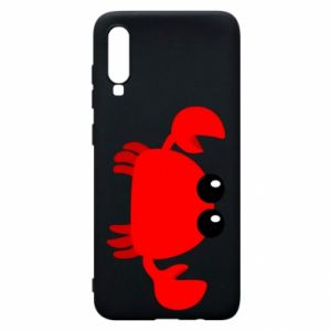 Etui na Samsung A70 Small pink crab