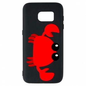 Etui na Samsung S7 Small pink crab