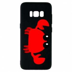 Etui na Samsung S8 Small pink crab