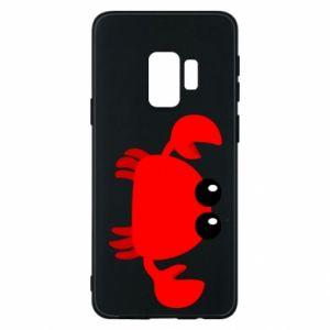 Etui na Samsung S9 Small pink crab