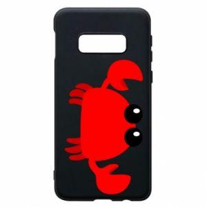 Etui na Samsung S10e Small pink crab