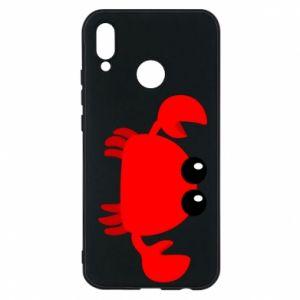 Etui na Huawei P20 Lite Small pink crab
