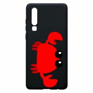 Etui na Huawei P30 Small pink crab