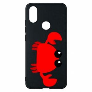 Etui na Xiaomi Mi A2 Small pink crab
