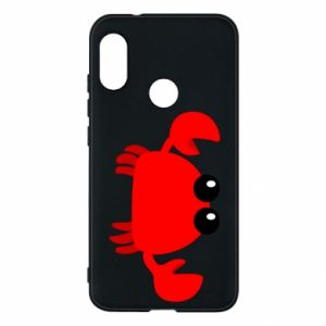 Etui na Mi A2 Lite Small pink crab