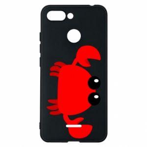 Etui na Xiaomi Redmi 6 Small pink crab