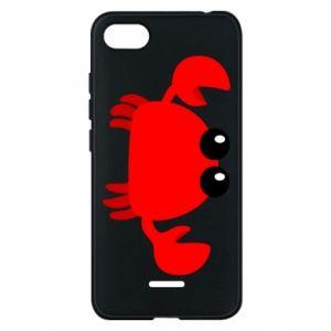 Etui na Xiaomi Redmi 6A Small pink crab