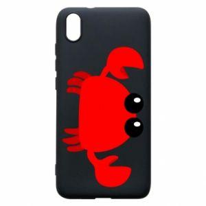 Etui na Xiaomi Redmi 7A Small pink crab