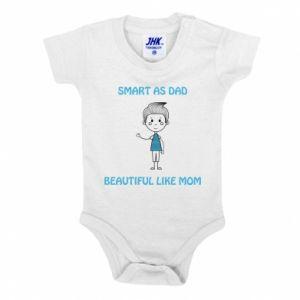 Body dla dzieci Smart as dad - PrintSalon
