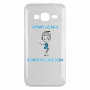 Etui na Samsung J3 2016 Smart as dad - PrintSalon