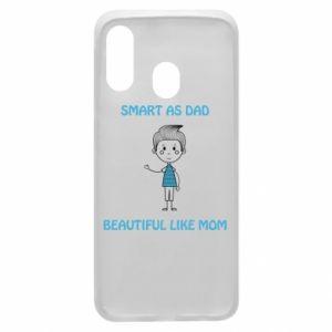 Etui na Samsung A40 Smart as dad - PrintSalon