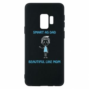 Etui na Samsung S9 Smart as dad - PrintSalon