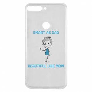 Etui na Huawei Y7 Prime 2018 Smart as dad - PrintSalon
