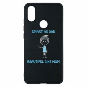Etui na Xiaomi Mi A2 Smart as dad - PrintSalon