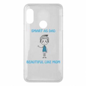 Etui na Mi A2 Lite Smart as dad - PrintSalon