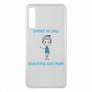 Etui na Samsung A7 2018 Smart as dad