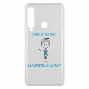 Etui na Samsung A9 2018 Smart as dad - PrintSalon