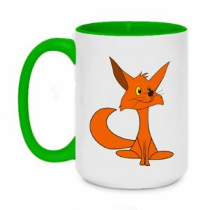 Two-toned mug 450ml Smart Fox