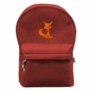 Backpack with front pocket Smart Fox