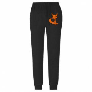 Spodnie lekkie męskie Smart Fox