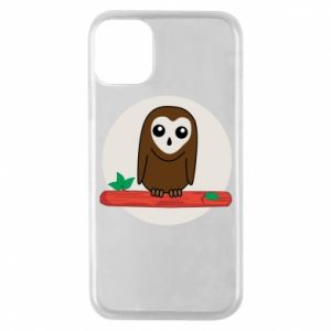 Phone case for iPhone 11 Pro Funny owl