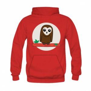 Kid's hoodie Funny owl