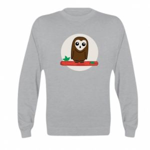Kid's sweatshirt Funny owl