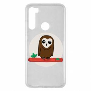 Xiaomi Redmi Note 8 Case Funny owl