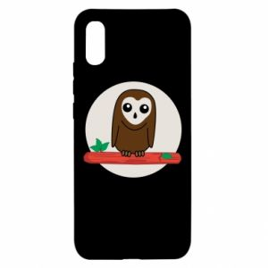 Xiaomi Redmi 9a Case Funny owl