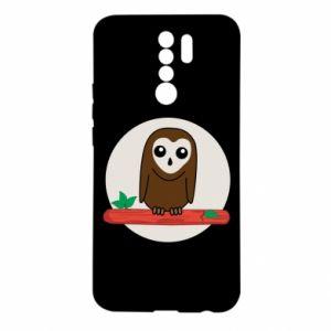 Xiaomi Redmi 9 Case Funny owl