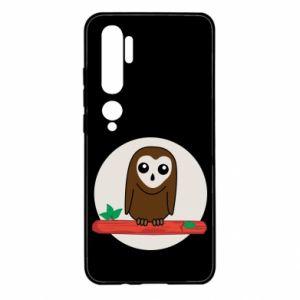 Xiaomi Mi Note 10 Case Funny owl