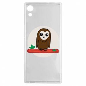 Sony Xperia XA1 Case Funny owl