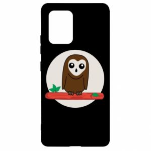 Samsung S10 Lite Case Funny owl