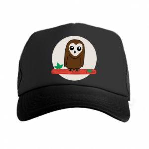 Trucker hat Funny owl