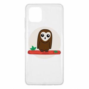 Samsung Note 10 Lite Case Funny owl