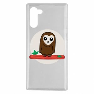 Samsung Note 10 Case Funny owl