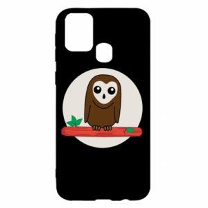Samsung M31 Case Funny owl