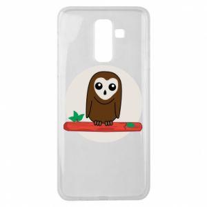 Samsung J8 2018 Case Funny owl