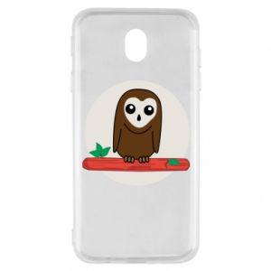 Samsung J7 2017 Case Funny owl