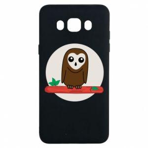 Samsung J7 2016 Case Funny owl