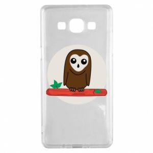 Samsung A5 2015 Case Funny owl