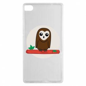 Huawei P8 Case Funny owl