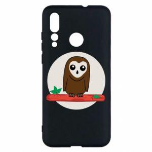 Huawei Nova 4 Case Funny owl