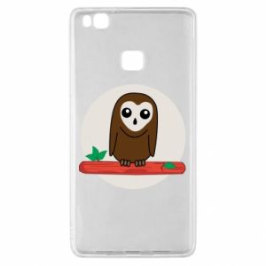 Huawei P9 Lite Case Funny owl