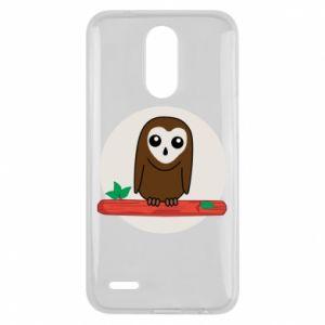 Lg K10 2017 Case Funny owl