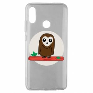Huawei Honor 10 Lite Case Funny owl