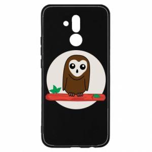 Huawei Mate 20Lite Case Funny owl