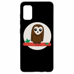 Samsung A41 Case Funny owl