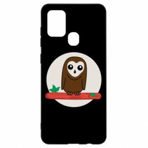 Samsung A21s Case Funny owl